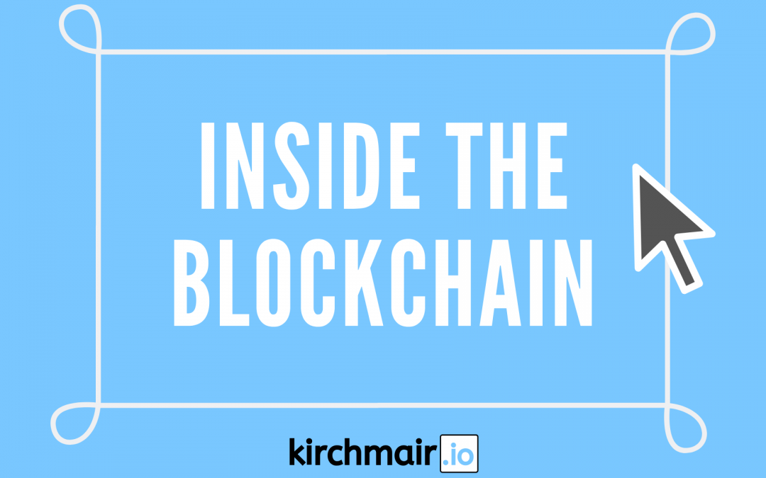 Inside the Blockchain