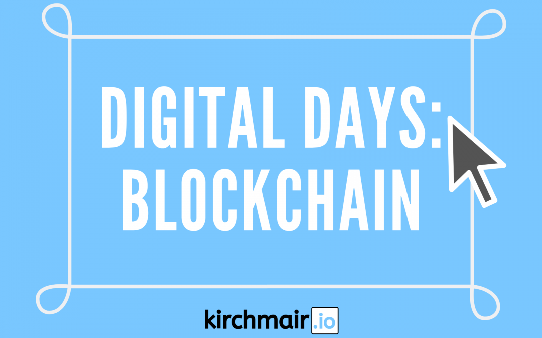 ICO & Blockchain: Digital Days Vienna 2017
