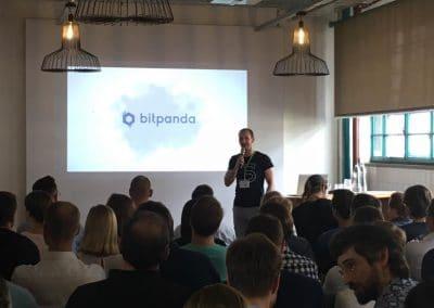 Michael Kirchmair Meetup Moderation Bitpanda