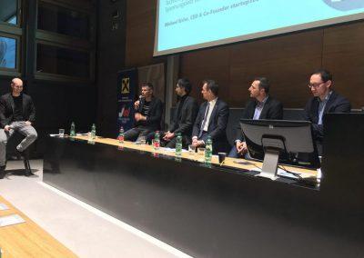 Michael Kirchmair Moderation Blockchain JKU Linz